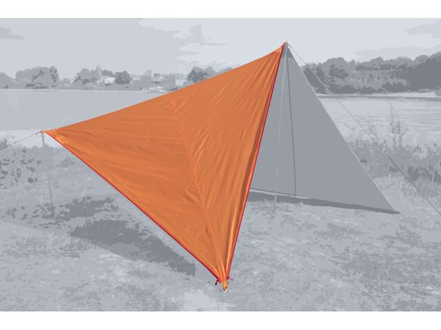 Bent Canvas Plain Set, naranja